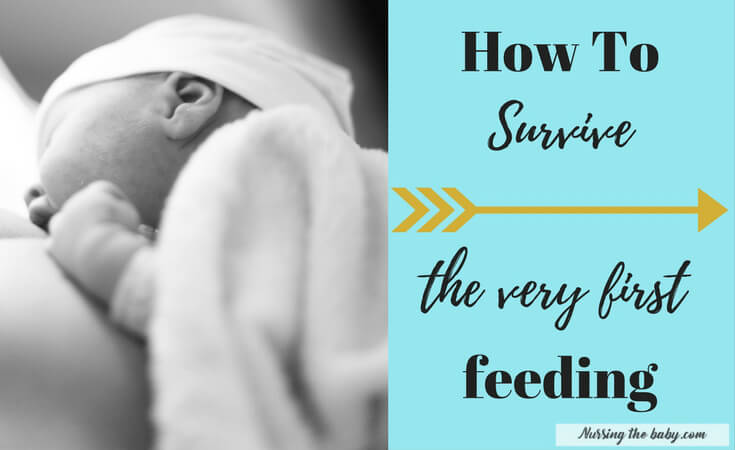 survive the first time breastfeeding newborn baby