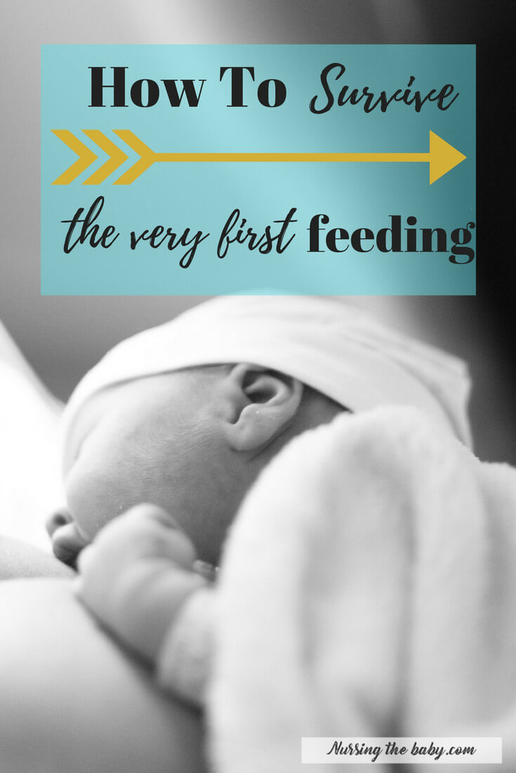 Breastfeeding a new baby can be a daunting task. Find out how to make the very first feeding the best possible experience for you AND your baby!