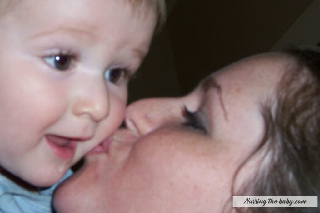 love and kisses more important than breastfeeding