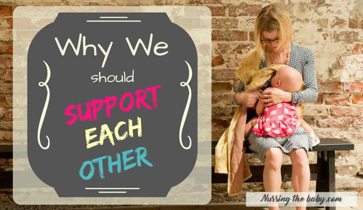 support each other while breastfeeding in public