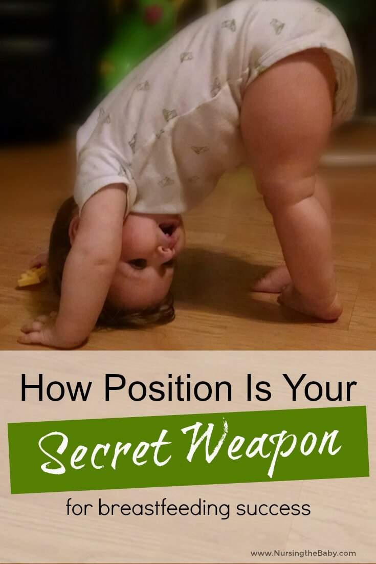 Let's face it, breastfeeding is hard. One of the easiest, but most profound ways to ensure success is position. Learn the best position for you!
