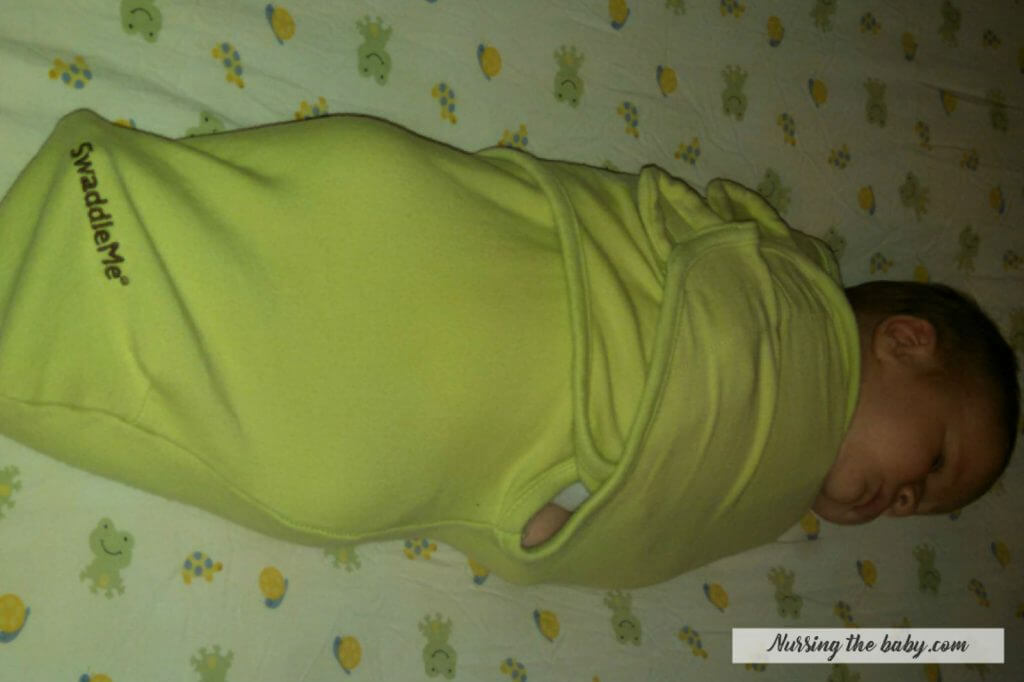 knowing how to swaddle can help with a big baby