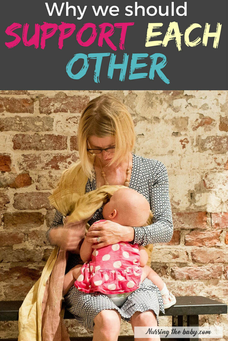 Any mother who is willing to sacrifice boobs to breastfeed should be applauded when she feeds her hungry baby in public. Supporting other moms is essential!