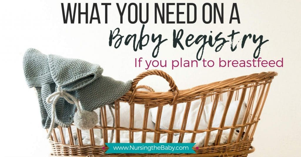 What you should have on a baby registry