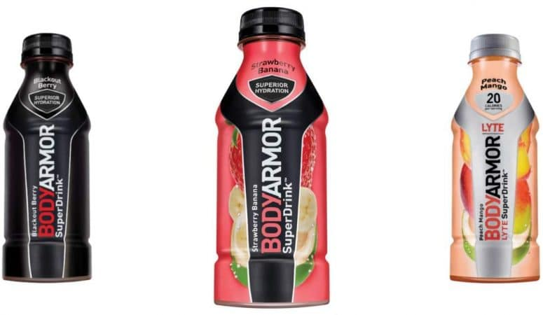 Does BodyArmor sports drink boost milk supply?