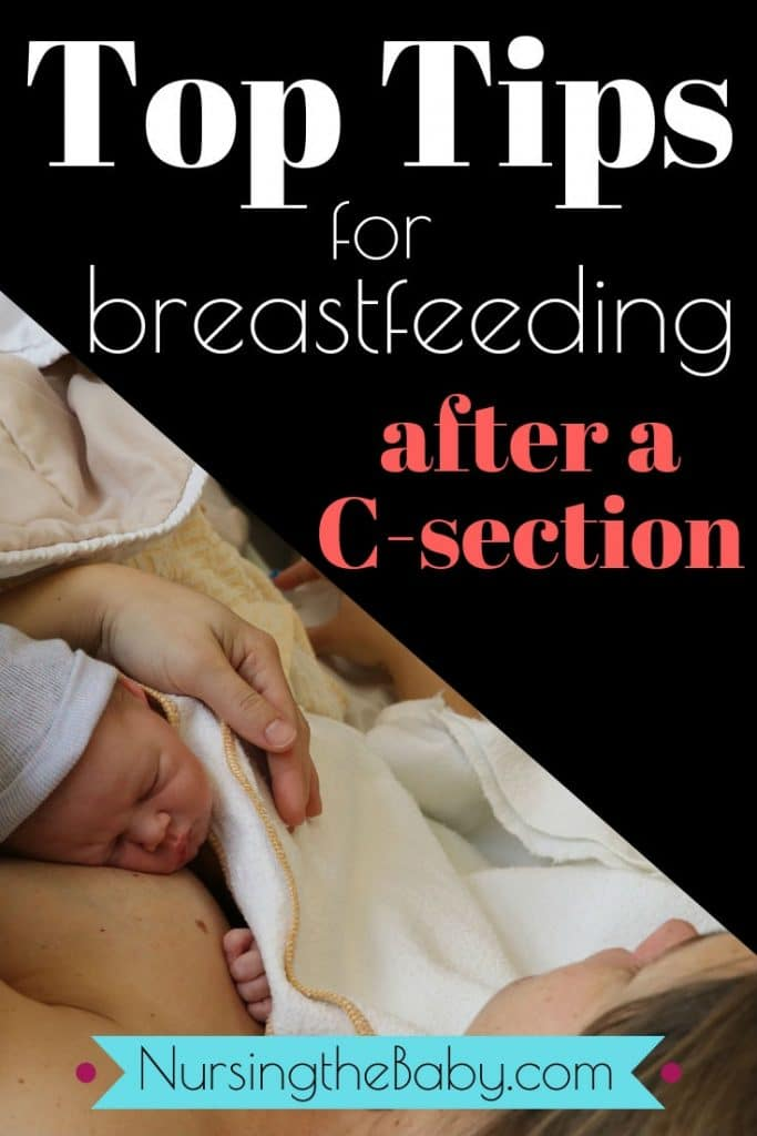 breastfeeding after a C-section is possible