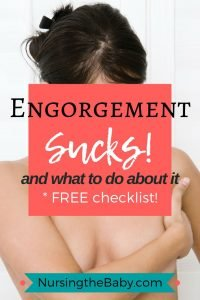 how to ease engorgement