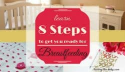 8 Steps to get ready for breastfeeding