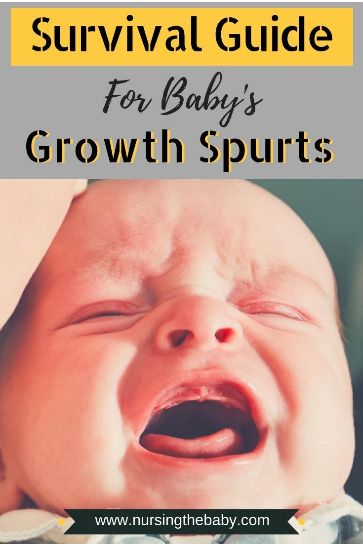how to survive growth spurts in babies