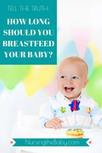 find out how long you should breastfeed your baby