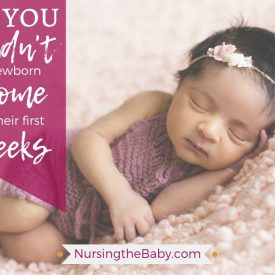 Why you shouldn't keep a newborn home for the first 6 weeks