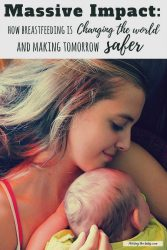 there is a wonderful impact of breastfeeding on the world