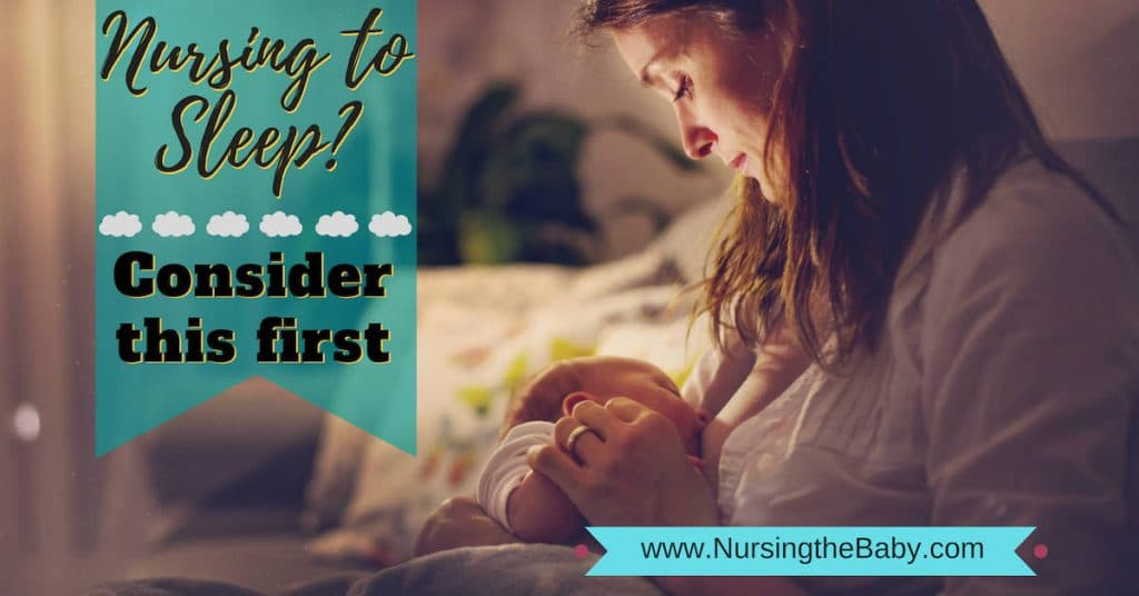 nursing to sleep