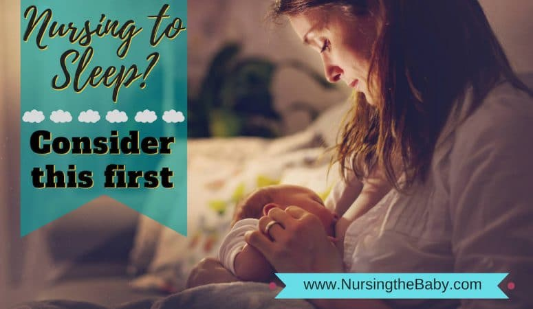 Nursing to sleep? Consider this first