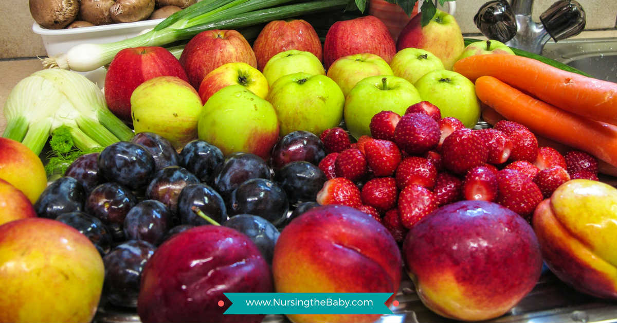 Nutrition to lose weight while breastfeeding