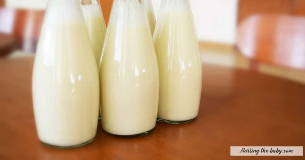 safe milk storage is crucial to keep breastfeeding after maternity leave