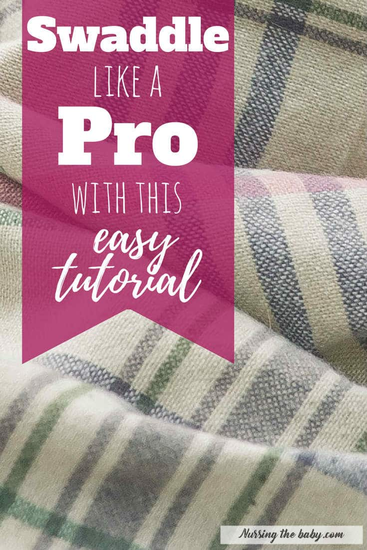 Swaddling is one of the easiest and most effective ways to comfort your new baby. Learn the secrets to the perfect swaddle and watch your baby calm right down. Super easy tutorial!