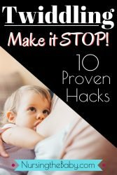 hacks to get your baby to stop twiddling